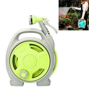 Auto Portable multi-functioneel water Power wasmachine hoge druk mini water pijp (grasgroen)