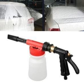 Draagbare multi-functionele auto wasmachine water gun Foam pot watersproeier  willekeurige kleur levering