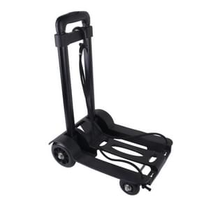 Lightweight Portable Folding Luggage Carts Travel Trolley with Rope