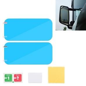 Vrachtwagen huisdier achteruitkijkspiegel beschermende venster duidelijk anti-mist waterdichte regen schild film