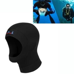 Wetsuits Surfing Neoprene Warm Dive Diving Hood 3mm Bib Hood  Size: L 57-59cm
