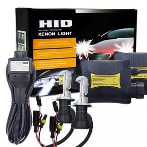 55W H4/HB2/9003 6000K 3200LM HID Xenon licht Conversieset met slanke ballast hoge intensiteit Ontladings lamp  wit