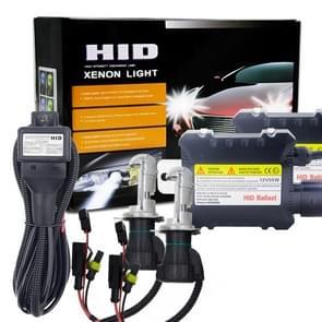 55W H4/HB2/9003 6000K HID Xenon licht Conversieset met hoge intensiteit ontlading legering ballast  wit
