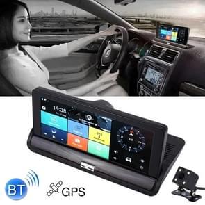 7 inch Auto DVR Rearview Mirror Dual Camera WiFi GPS Driving Video Recorder Bluetooth Hands-free Car Dash Cam  3G Versie