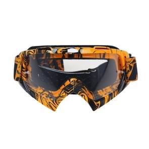 Motorfiets onderdelen Goggles Ski Goggles buiten winddicht Glasses(Transparent)