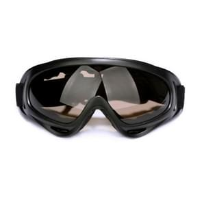 Motorfiets delen bril Anti-UV bril buiten winddicht Glasses(Brown)