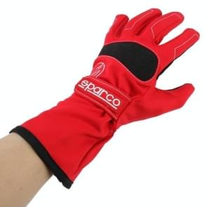 Winter Riding Gloves Waterproof Windproof Warm Gloves Breathable Sports Gloves Non-slip Outdoor Gloves  Size: XL(Red)