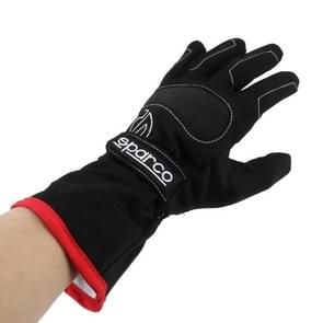 A Pair Winter Riding Gloves Waterproof Windproof Warm Gloves Breathable Sports Gloves Non-slip Outdoor Gloves  Size: XL(Black)