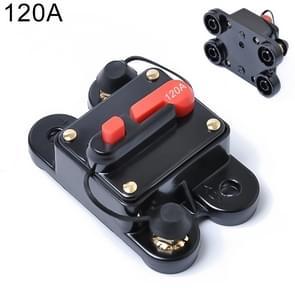120A DC 12-24V auto Audio Stereo vermogenschakelaar automatische Reset zekeringhouder