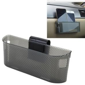 3R auto Auto siliconen draagtas organisator opslag Vent Hanger vak Sticker voor telefoon munt sleutel en andere kleine Items (groot formaat)