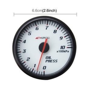 Universele 2 5-inch 60mm olie manometer Auto Gauge Meter olie Temp Gauge aanwijzer voor auto olie druk op Temp Meter Auto meter