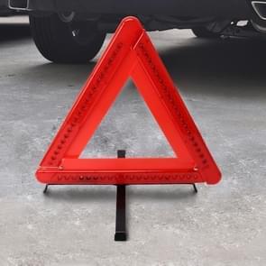 Praktische auto driehoek dringende waarschuwing teken Foldtable reflecterende veiligheid langs de weg verlichting stopbord statief waarschuwing statief