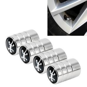 4 stuks aluminium legering gas cap mondstuk cover gas cap Tire Cap auto motor fietsband Valve Caps