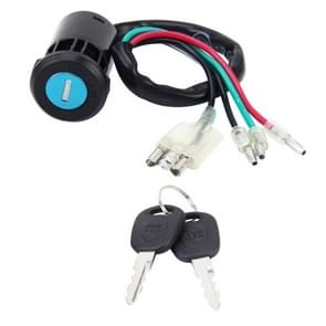 Motorfiets elektrische deurslot met twee sleutels voor CG125