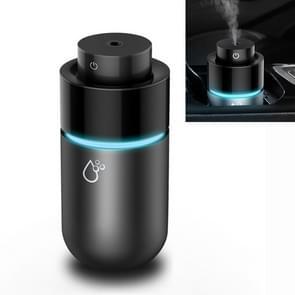 Auto Mini Humidifier Luchtreiniger Humidifier USB Aromatherapie Deodorization (Zilvergrijs)