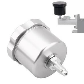 XH-BK017 Auto Racing Drift Gemodificeerde aluminiumlegering CNC concurrerende hydraulische handrem olie tank pot (zilver)