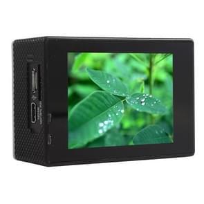 F60 2.0 inch scherm 4K 170 graden beeldhoek WiFi Sport Actiecamera camcorder met waterdichte behuizing, ondersteunt 64GB Micro SD kaart(zwart)