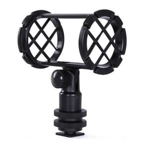BOYA BY-C04 Camera Microphone Shockmount with Hot Shoe Mount for PVM1000 PVM1000L Microphone(Black)
