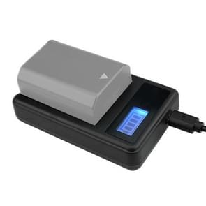 Digital LCD Display Battery Charger with USB Port for Sony NP-FZ100 Battery  Compatible with Sony A9 (ILCE-9)