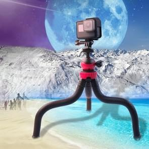 Mini Octopus Flexible Tripod Holder with Phone Clamp for iPhone  Galaxy  Huawei  GoPro  Xiaoyi and Other Action Cameras