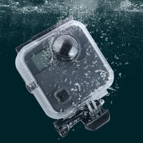 40m Waterproof Housing Protective Case  for GoPro Fusion  with Buckle Basic Mount & Screw & Wrench