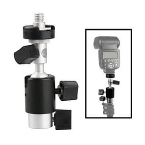 D Type Multifunctional Flash Light Stand Umbrella Bracket  Max Load: 2kg