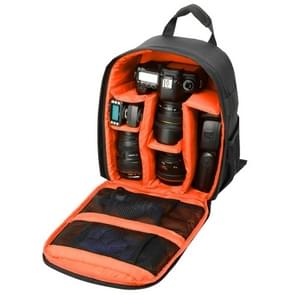 INDEPMAN DL-B013 Portable Waterproof Scratch-proof Outdoor Sports Backpack Camera Bag Phone Tablet Bag for GoPro  SJCAM  Nikon  Canon  Xiaomi Xiaoyi YI  iPad  Apple  Samsung  Huawei  Size: 26.5 * 12.5 * 33 cm(Orange)