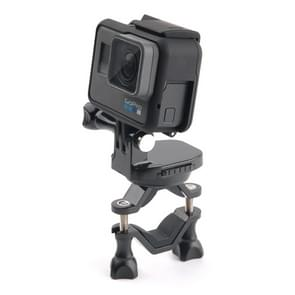 GP433 Bicycle Motorcycle Handlebar Mount for GoPro HERO6 /5 /5 Session /4 Session /4 /3+ /3 /2 /1 / Fusion  Xiaoyi and Other Action Cameras(Black)
