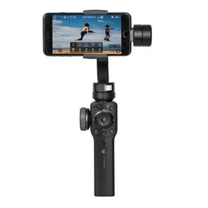 Zhiyun Smooth 4 3-Axis Handheld Gimbal Stabilizer for iPhone XR  X / XS  8 Plus & 7 Plus  8 & 7  Galaxy S9 / S8 / S7  and Other Smartphones(Black)