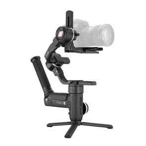ZHIYUN YSZY014 CRANE 3S-E 3-assige handheld gimbal draadloze beeldtransmissie camera stabilisator met easysling handvat + quick release plaat + opbergkoffer voor DSLR camera  belasting: 6 5 kg (zwart)