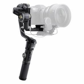 ZHIYUN YSZY017 CRANE 2S 3-assige handheld Gimbal Bluetooth camerastabilisator met statief + quick release plaat + handvat voor DSLR-camera  belasting: 500 g (zwart)