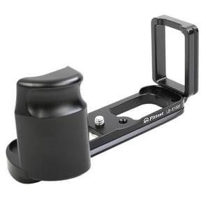 FITTEST FLS-X100F Vertical Shoot Quick Release L Plate Bracket Base Holder for FUJI X100F (Black)