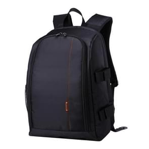 HUWANG HU107490 Portable Waterproof Scratch-proof Polyester Surface Material 15.6 inch Laptop Notebook Computer Bag Backpack Shoulder Bag Outdoor Sports Camera Bag Phone Bag for GoPro  SJCAM  Nikon  Canon  Xiaomi Xiaoyi YI  Apple  Samsung  Huawei(Orange)