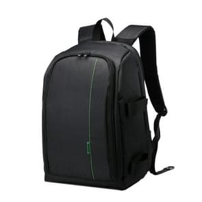 HUWANG HU107490 Portable Waterproof Scratch-proof Polyester Surface Material 15.6 inch Laptop Notebook Computer Bag Backpack Shoulder Bag Outdoor Sports Camera Bag Phone Bag for GoPro  SJCAM  Nikon  Canon  Xiaomi Xiaoyi YI  Apple  Samsung  Huawei(Green)