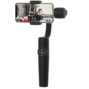 Zhizhuo S1 3-Axis Stabilized Plastic Handheld Gimbal Stabilizer for Smartphones(Black)