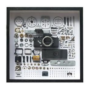 Niet-werkende display 3D mechanische film camera vierkante foto frame montage demonteren specimen frame  model: stijl 5  willekeurige camera model levering