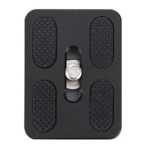 Fittest PU-50 Universal Aluminium Alloy Quick Release Plate with Rubber Cushion