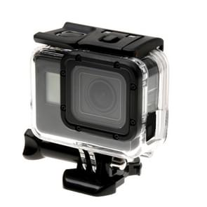 For GoPro  NEW HERO /HERO6   /5 Skeleton Housing Protective Case + Hollow Back Cover with Buckle Basic Mount & Screw  No Need to Disassemble Lens