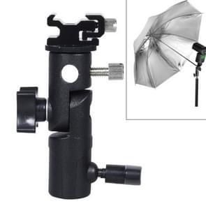 E Type Multifunctional Flash Light Stand Umbrella Bracket  Max Load: 3kg