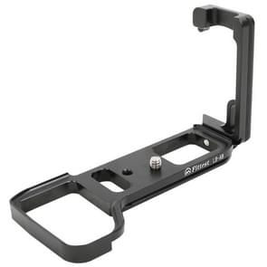 FITTEST LB-A9  Vertical Shoot Quick Release L Plate Bracket Base Holder for Sony ILCE-9 / ILCE-7M3(Black)