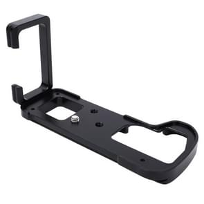 FITTEST LB-GH5 Vertical Shoot Quick Release L Plate Bracket Base Holder for Panasonic LUMIX GH5 Camera Metal Ballhead(Black)