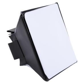 Opvouwbare zachte Diffuser Softbox Cover voor externe flitslicht  grootte: 10 cm x 13 cm