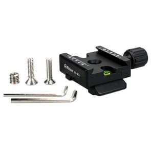 STERKSTE FC-RC4 Manfrotto naar Akai knop Type Quick Release Clamp Adapter plaat monteren (zwart)