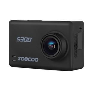 SOOCOO S300 Hi3559V100 + Sony IMX377 Ultra HD 4K EIS WiFi actiecamera 2 35-inch TFT scherm 170 graden breed hoek steun TF Card(Max 128GB) & GPS & Mic & luidspreker & Bluetooth Remote Control(Black)