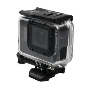 For GoPro  NEW HERO /HERO6   /5 Skeleton Housing Protective Case + Hollow Back Cover with Buckle Basic Mount & Screw