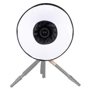 45cm Universal Foldable Ring Style Flash Folding Soft Box  Without Flash Light Holder(Black + White)