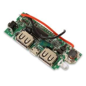 Dual USB Mobile Power Bank DIY batterij lader PCB boord Boost intensiveren Module