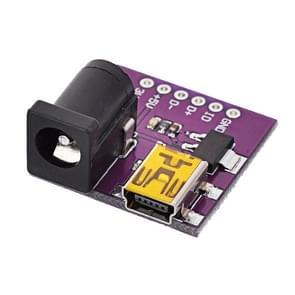 Mini USB DC Power Converter Module voor elektronische DIY (paars)