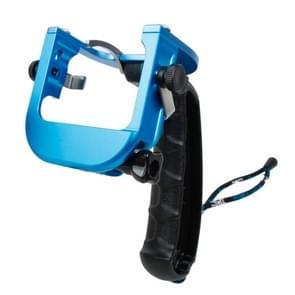 TMC P4 Trigger Handheld Grip CNC metalen Stick Monopod bevestiging voor GoPro HERO4 /3+(blauw)
