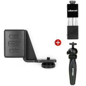 Mobiele telefoon beugel + uitbreiding Steunklamp + statief voor DJI OSMO Pocket (zwart)